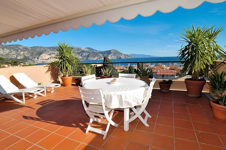 AMAZING SEA VIEW  WIFI + PARKING - Saint-Jean-Cap-Ferrat