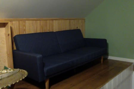 Open space Sofa-bed (size 6'...1.82 m)  2nd floor