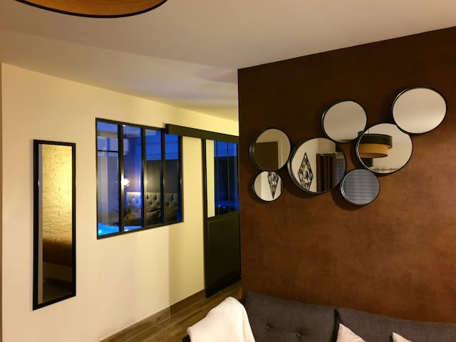 Chambre d'hôtes avec spa privatif