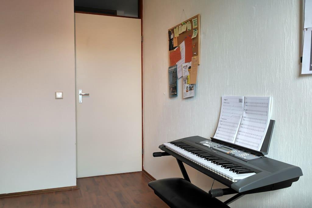 Bedroom (piano players anyone?)
