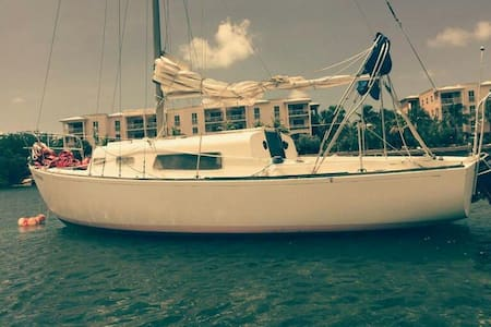 Cozy sailboat for the adventurous - Key West - Bateau