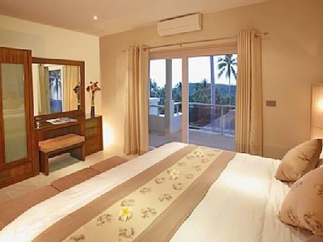 Villa with 2 superb infinity pools and sea view - เกาะสมุย - วิลล่า