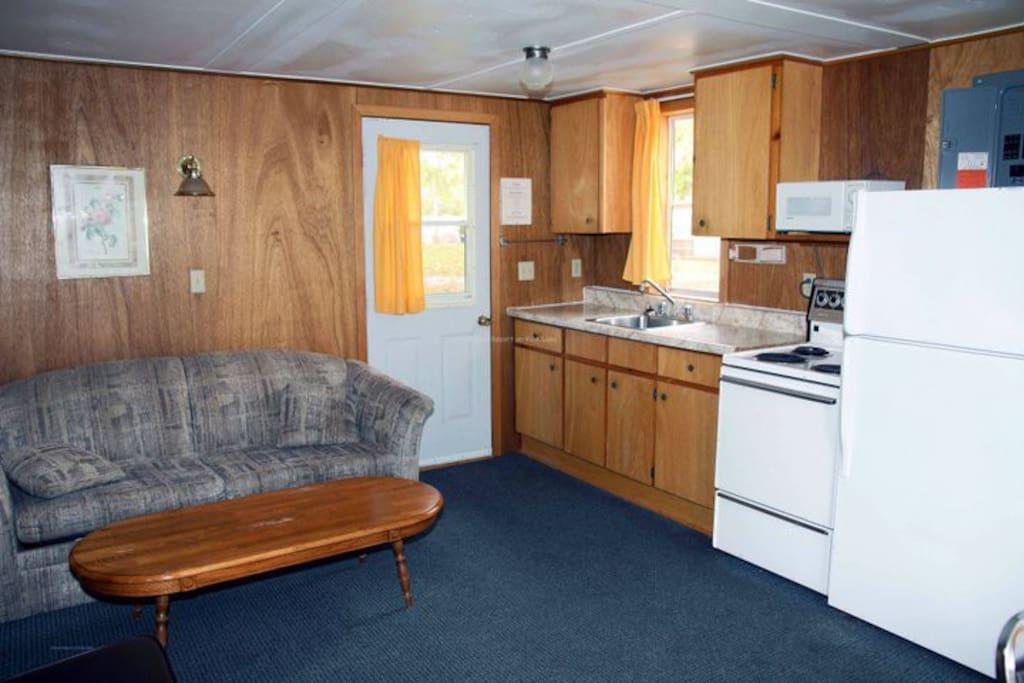 The pine kitchen