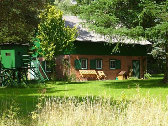 Moorkate-Uriges Jagdhaus im Grünen - Essel - Cabana