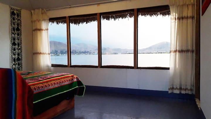 Uros Amtawi Uta Lodge - Habitación Matrimonial