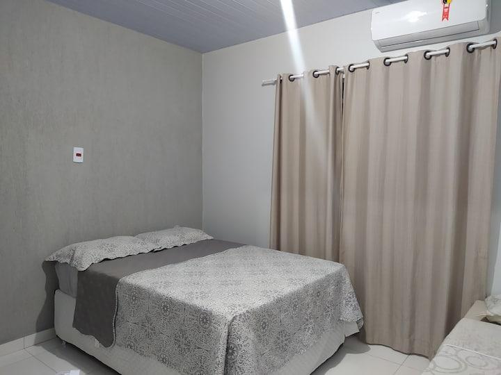 Apto c/ 2 quartos sendo um suíte, loc. Nova Marabá