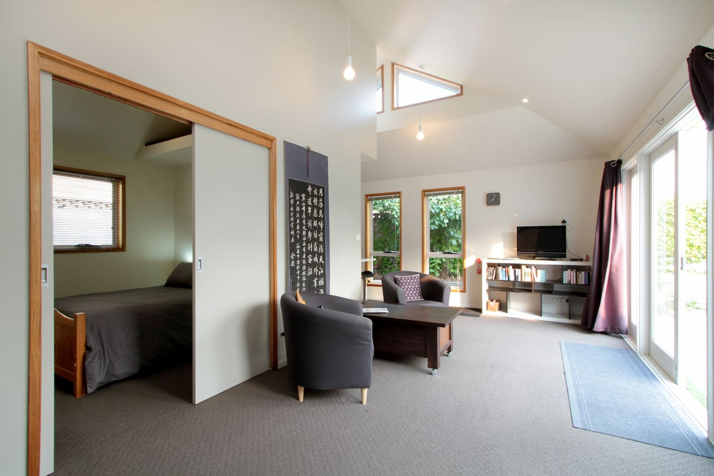 Spacious, clean,  light and airy