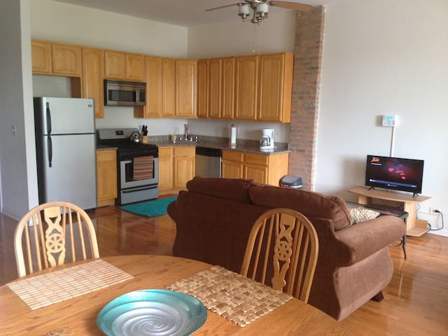 Home away from home near U of C - Chicago - Appartement en résidence