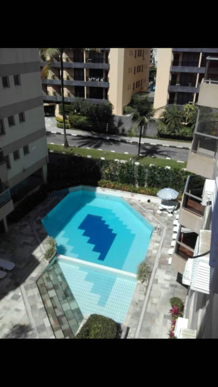 Apartamento ótimo na praia da Enseada, Guarujá