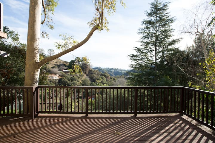 Spectacular View in Laurel Canyon