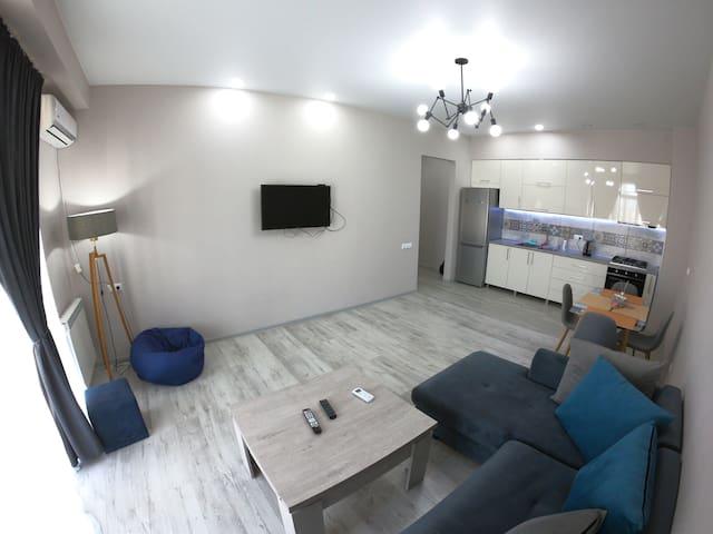 Sunny 2 room Apartment near Saburtalo, Goodwill