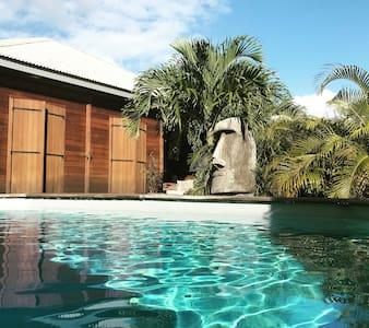 Bungalow Céladon avec spa privé