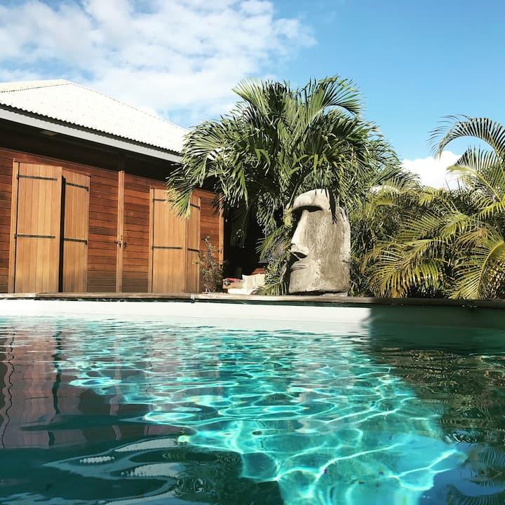 Bungalow Terracotta avec spa privé