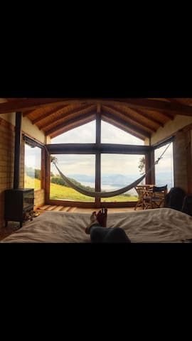 Enjoy the amazing view without getting out of bed!