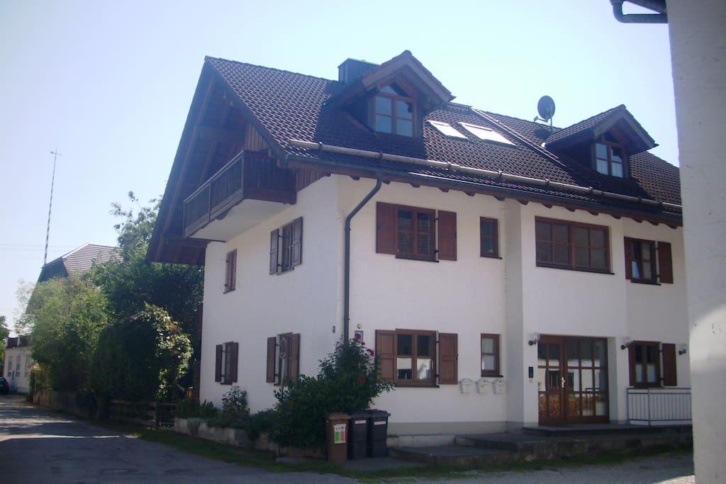 Wohnung im 2. Obergeschoss (Dachgeschoss)