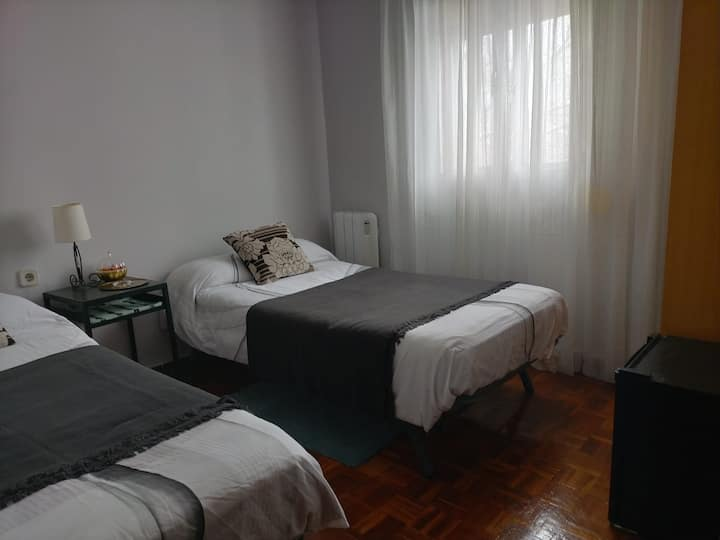 Habitación para dos personas  en Madrid