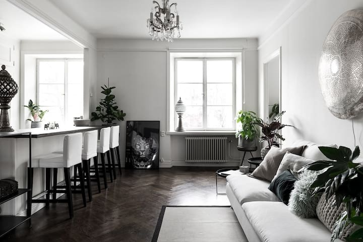 Great apartment central Stockholm