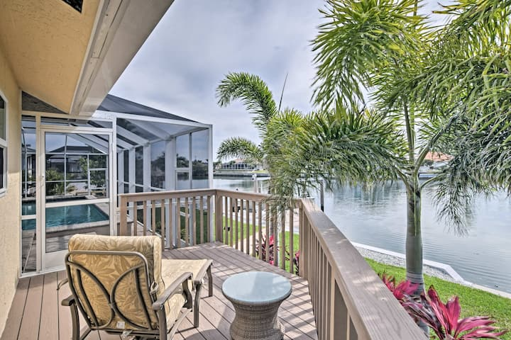 Waterfront Marco Island Home w/Private Pool & Dock