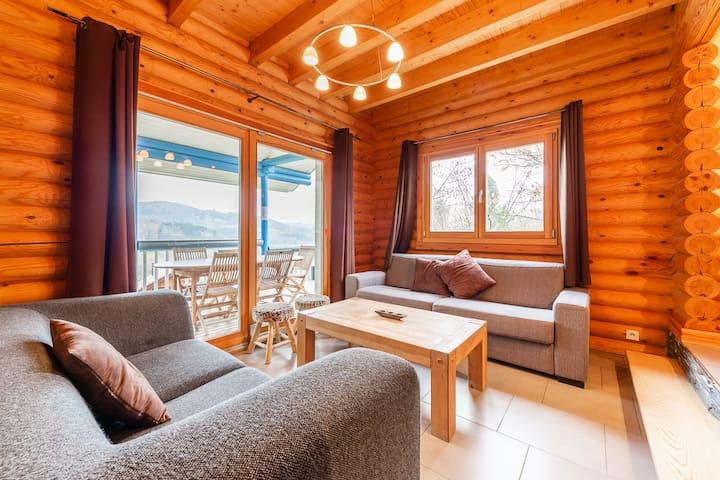 Chalet atypique 180m² : jacuzzi et sauna privatifs