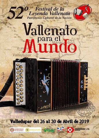 Arriendo 2 habiaciones para festival vallenato