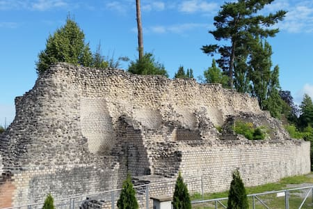 Exclusive view to the Roman Theater near Basel - Augst
