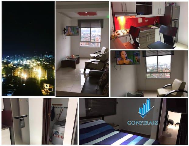Apartamento Amoblado Centro De Pereira - Dosquebradas - コンドミニアム