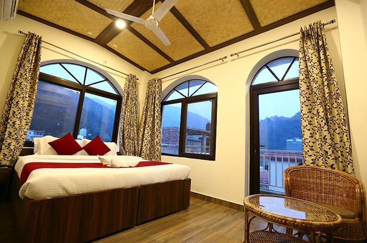 Modern affordable rooms at Tapovan