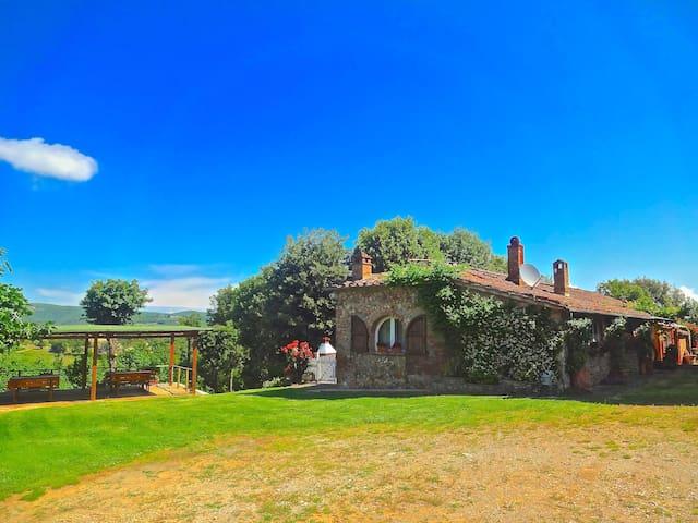 Country Siena Green Cottage Lampone - Monteriggioni - Apartamento