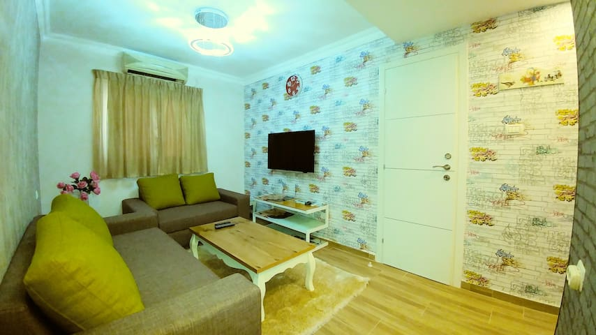 Luxury 2 bedrooms apartment by city apartments