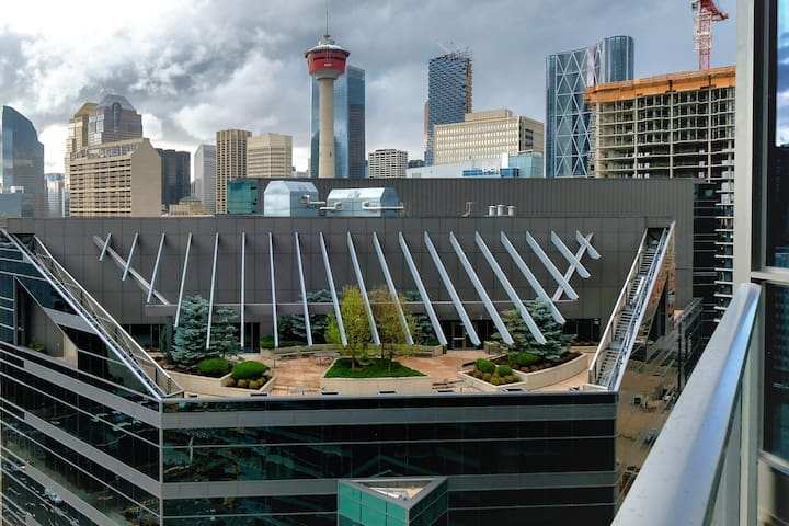 Chic and luxury - Calgary Downtown Condo- Gym&Pool