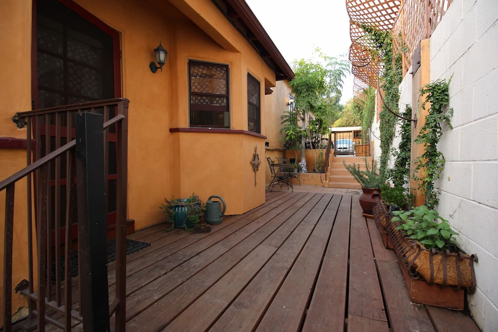 Entry and Deck