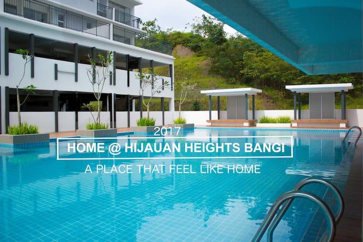 Bangi Cozy Condo Hijauan Heights UKM GMI Putrajaya - Kajang - Apartment