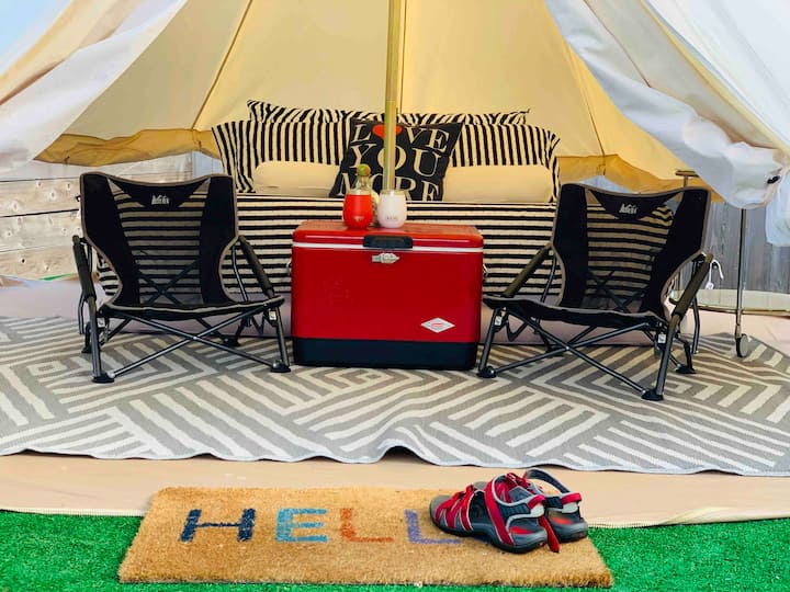 B Suite 3 – Dream House Tent Glamping in NW Eugene