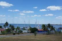 Vista de la Marina Marlin