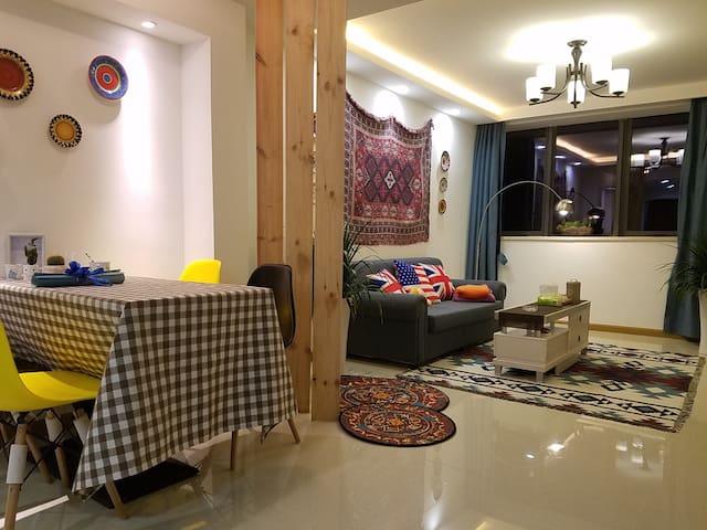 海边loft两室一厅独立厨房近鼓浪屿码头 - Hsziamen - Lakás