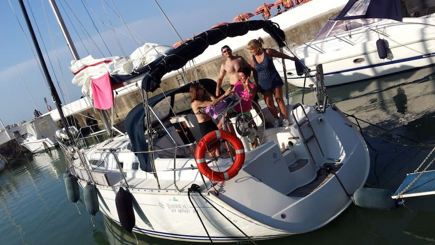 FUN & RELAX ON SAILING BOAT - Cervia - Boot