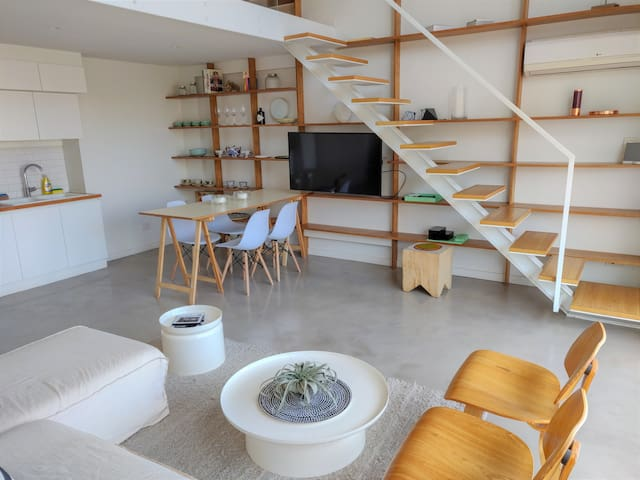 PALERMO | Bright 1BR LOFT with TERRACE & POOL