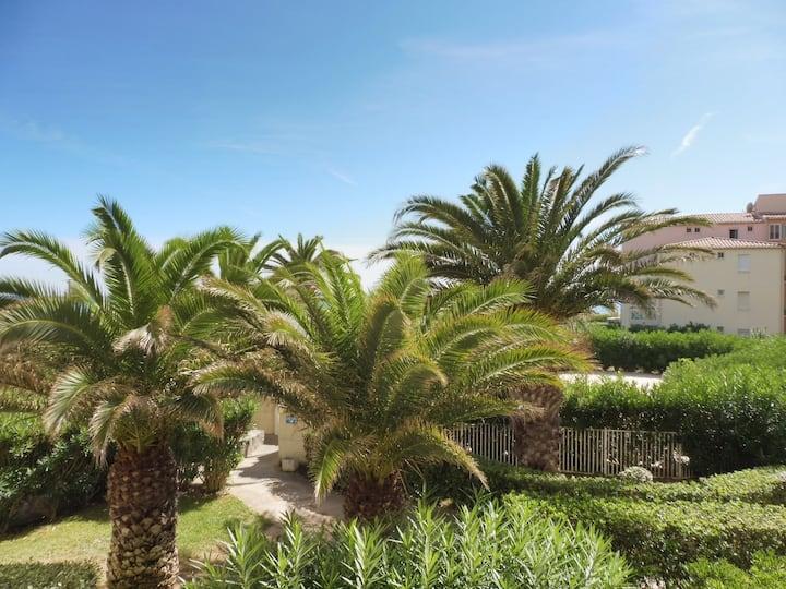 Cap d'Agde, T3, 4pers, Piscine, Pkg, Rochelongue