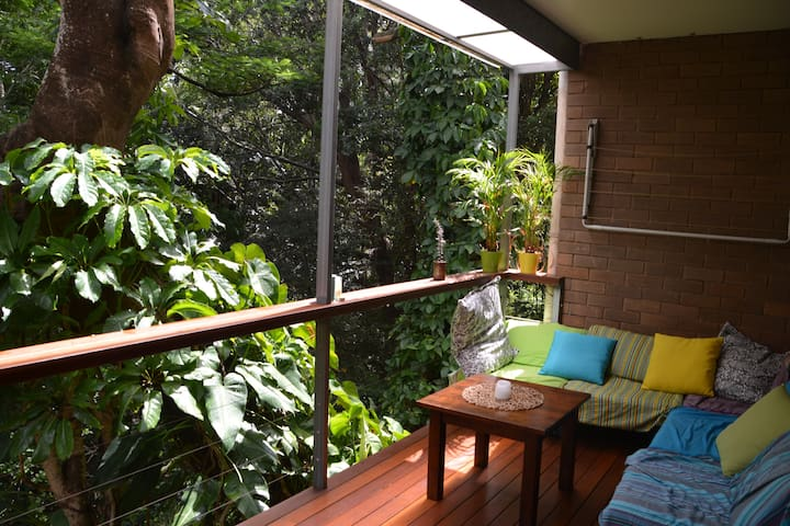 Quiet room in rainforest near UQ - Highgate Hill - Pis