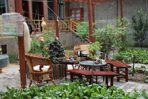 青海湖畔_溪漫农家花园客栈(独立标间)