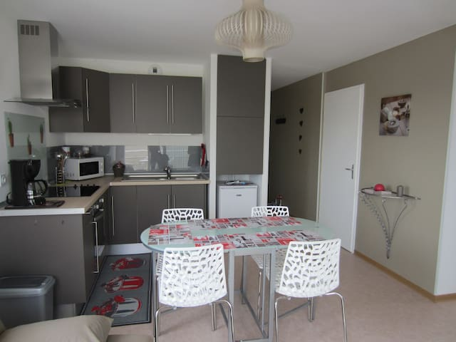 Appartment with sea view near le Touquet - Camiers - Lejlighed