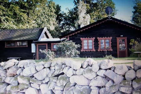 Cabin on top of the hill and end of the road. - Högalt - Cabin - 1