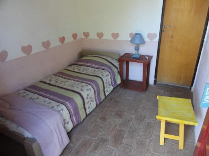 Habitación individual privada