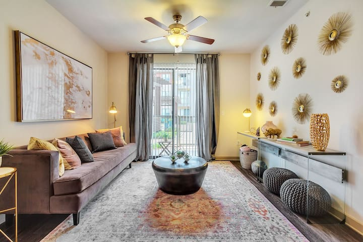 Well-equipped apartment home | 1BR in Dallas