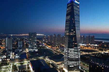 #송도 랜드마크 초고층아파트 Perfect View 메인로드(컨벤시아,센트럴파크 도보1분)