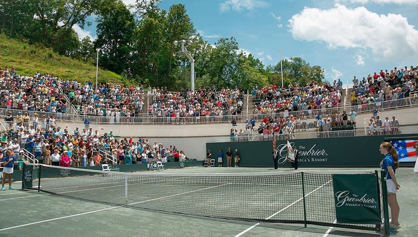 Tennis tournaments at the Greenbrier