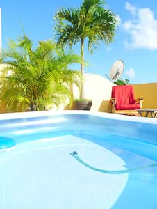 Penthouse suite, giant private chillout roof top - Playa del Carmen - Appartement