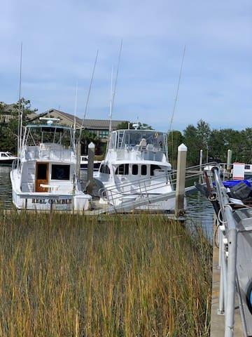 Stay on Water on Charleston Harbor