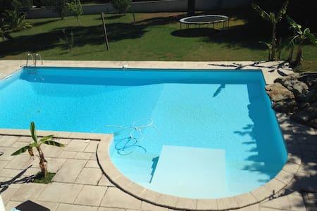Suite parentale ( chambre-SDB) accès terrasse - Bassussarry