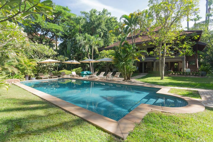 Luxury Villa, 4 bedrooms, private pool.